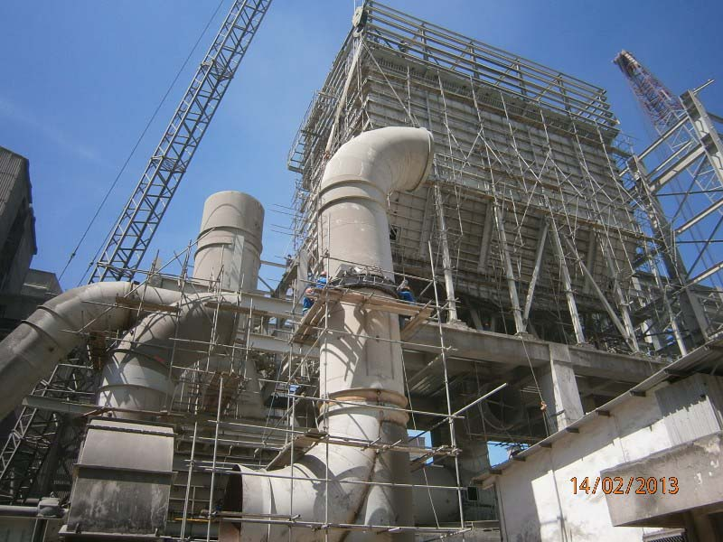 Bag Filter Fly Ash Vertical Mill Tuban 1 Project