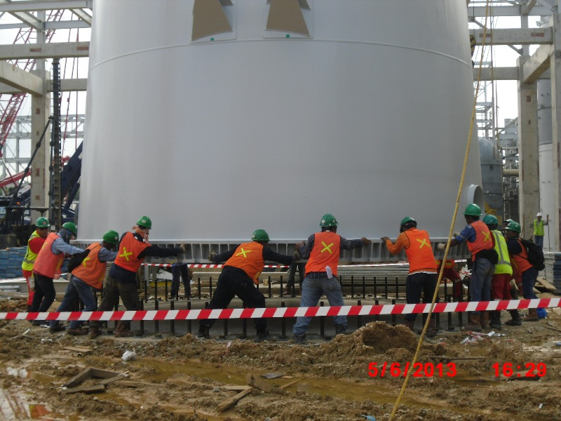 Installation item 121D_CO2 Absorber PKT-5 Project