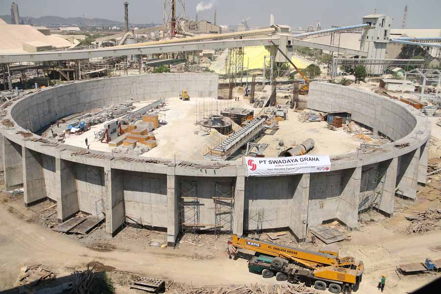 Circular Storage of Revamp of Phosphoric Acid Plant Project