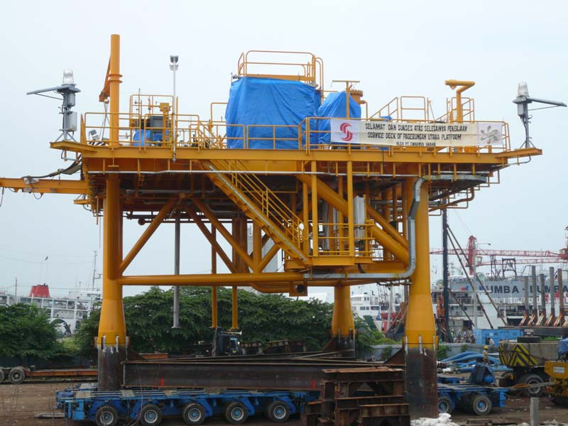 Deck Frame, Pagerungan, PT Kangean Energy Indonesia
